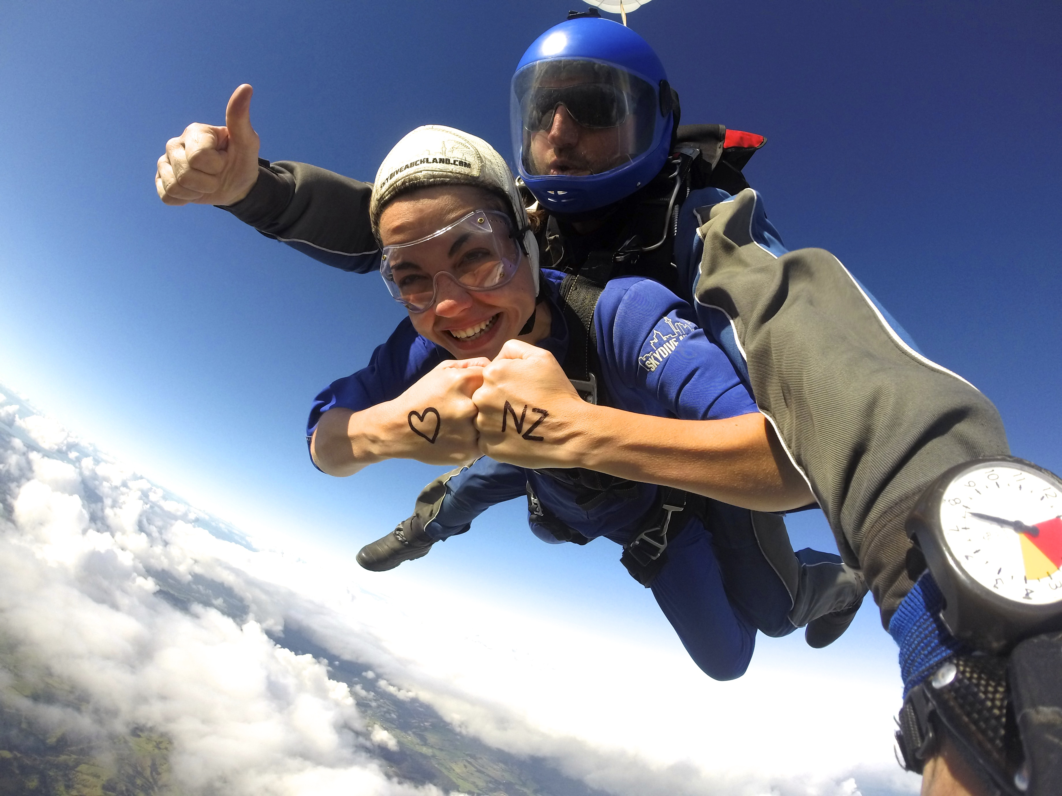 Skydive Auckland